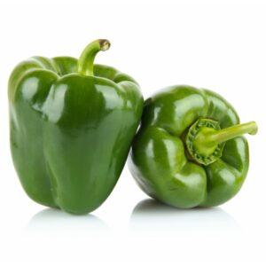 Grüne Paprikafaser